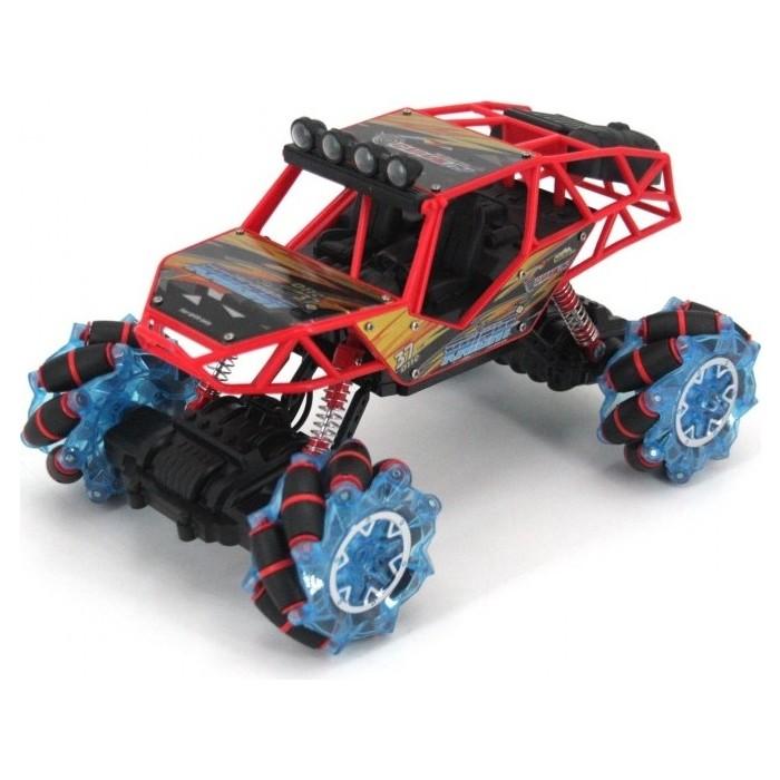 Фото - Радиоуправляемый краулер Zegan на роликовых колесах, свет, звук 2.4G - ZG-C1431-RED радиоуправляемая машина zegan crazy drift 1 16 красный zg c1432 red