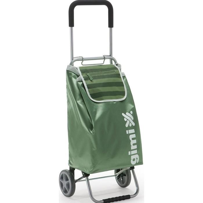Сумка-тележка Gimi Flexi зеленая