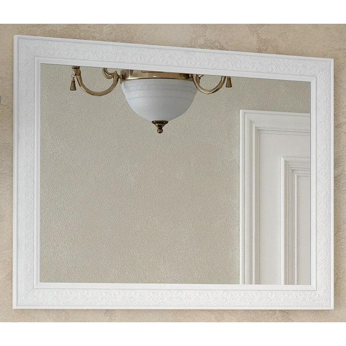 Зеркало Corozo Классика 105 белое (SD-00000268)
