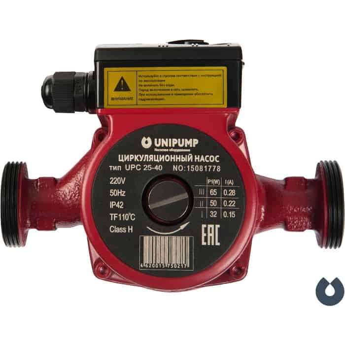 Циркуляционный насос UNIPUMP UPC 32-40 180 (34085)
