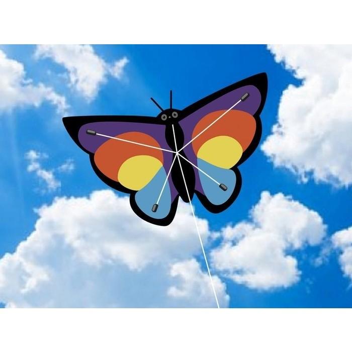 Воздушный змей Hasi Бабочка 90х60
