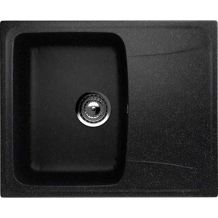 Кухонная мойка EcoStone черная (ES-26-308)
