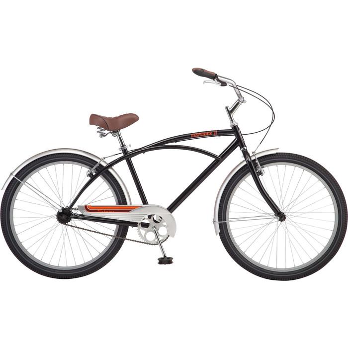 цена Велосипед Schwinn Baywood Men 26 (2019), цвет чёрный онлайн в 2017 году