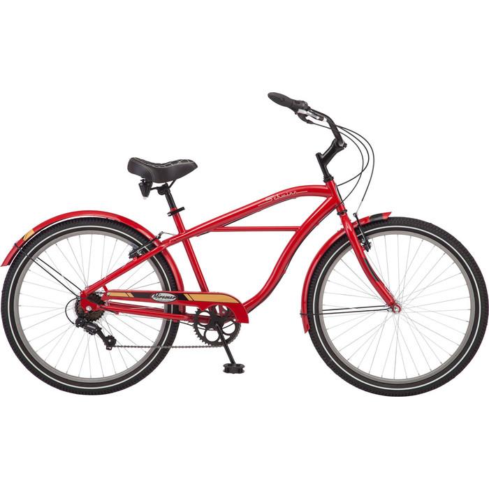 Велосипед Schwinn Miramar 26 (2019), цвет красный