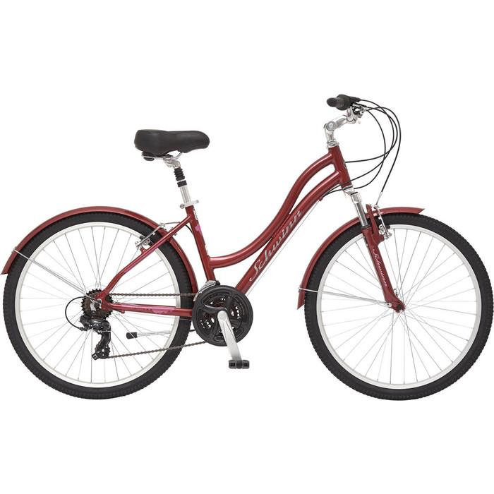 Велосипед Schwinn Suburban Deluxe Women 26, цвет красный