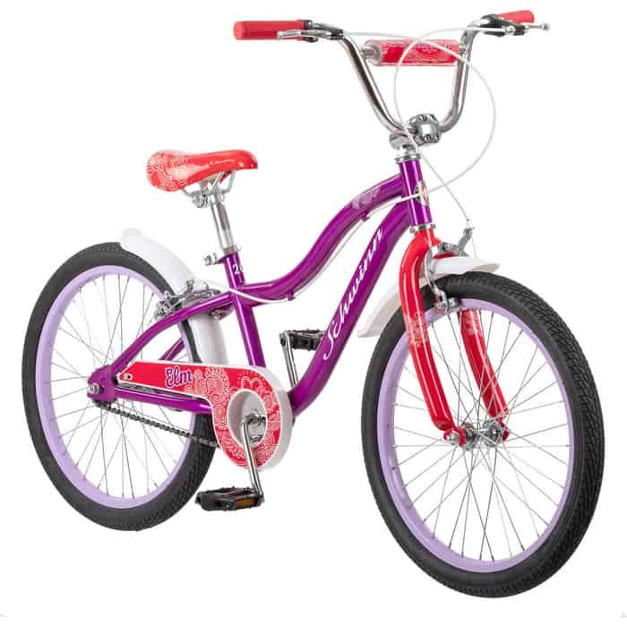 Велосипед Schwinn Elm (2020), колёса 20, цвет фиолетовый