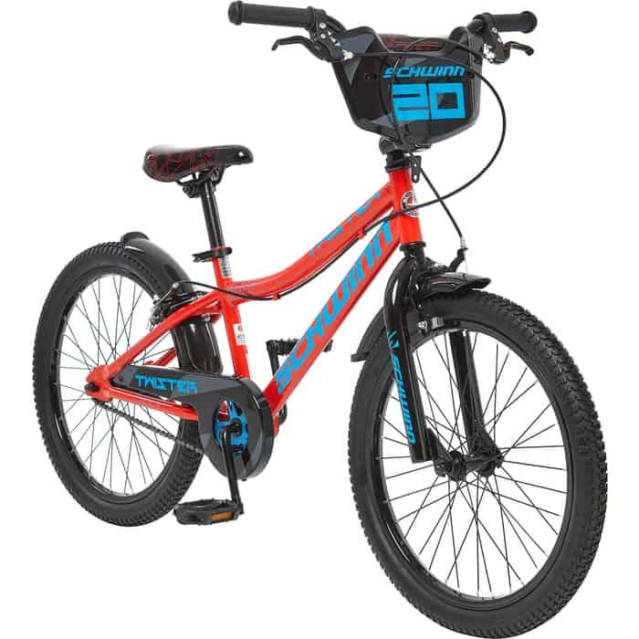 Велосипед Schwinn Twister, колёса 20, цвет красный