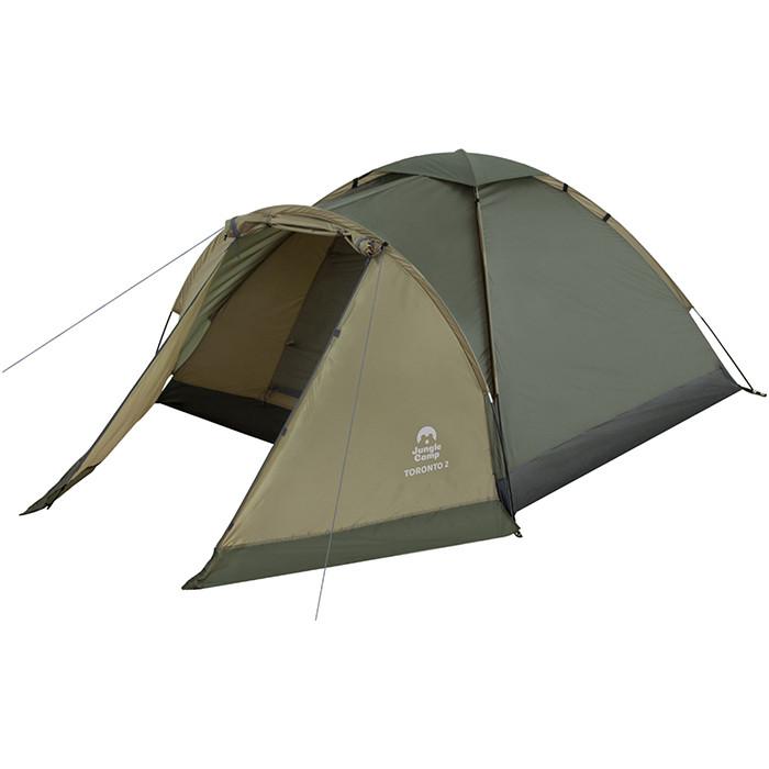Палатка Jungle Camp Toronto 2, т.зеленый/оливковый (70814)