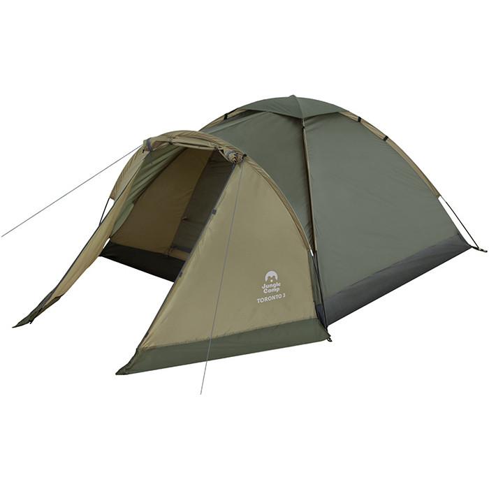 Палатка Jungle Camp Toronto 3, т.зеленый/оливковый (70815)