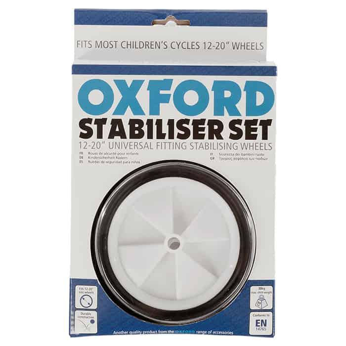 Oxford Колеса боковые для детских велосипедов Split Pin Stabiliser 12-20, колёс 12-20