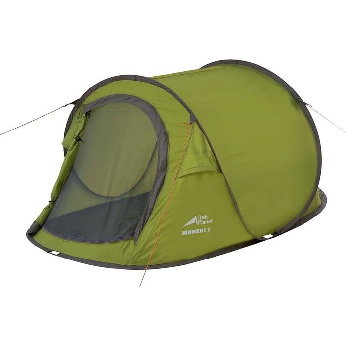 Палатка TREK PLANET Moment 2, быстросборная, зеленый (70295) недорого