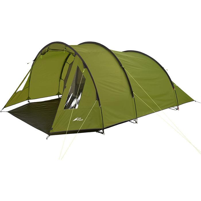 Палатка TREK PLANET Ventura 4, зеленый (70215) недорого