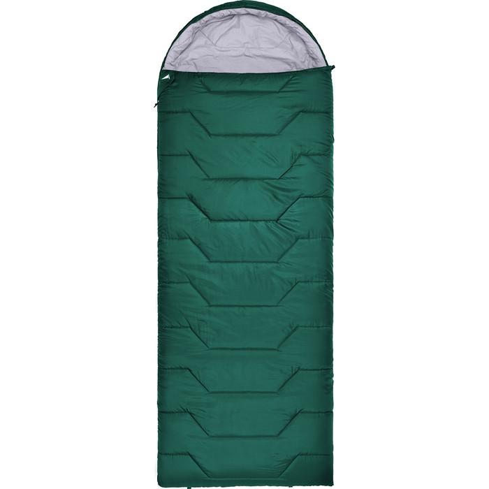 Спальный мешок TREK PLANET Chester Comfort, левая молния, цвет- зеленый 70392-R