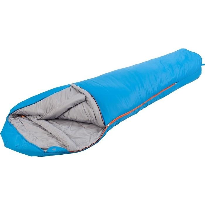 Спальный мешок TREK PLANET Dakar, трехсезонный, левая молния, цвет- синий 70330-L