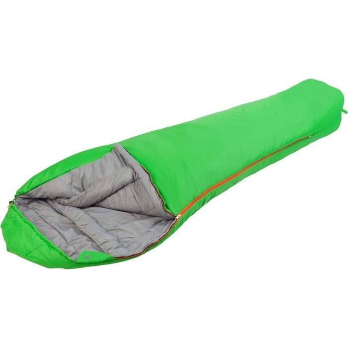 Спальный мешок TREK PLANET Redmoon, трехсезонный, правая молния, цвет- зеленый 70332-R