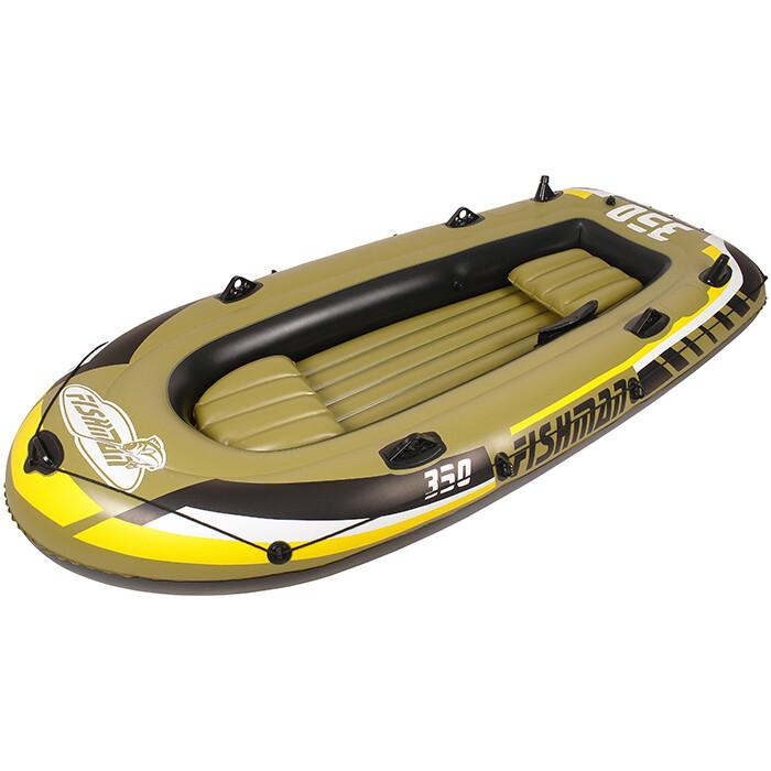 Лодка надувная Jilong FISHMAN 350SET, с алюм.веслами и насосом, 305х156х42 см