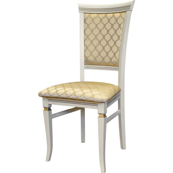 Мебелик Стул Бонита слоновая кость/золото лозанна шери