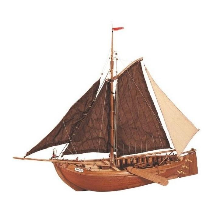 Сборная деревянная модель Artesania Latina корабля BON RETOUR, масштаб 1:25 недорого