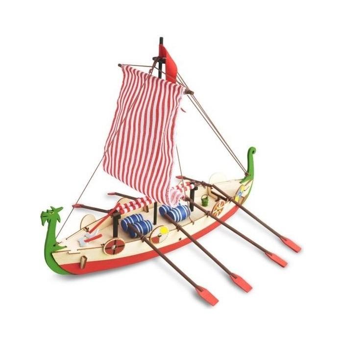 Сборная деревянная модель Artesania Latina корабля DRAKKAR (VIKING BOAT)