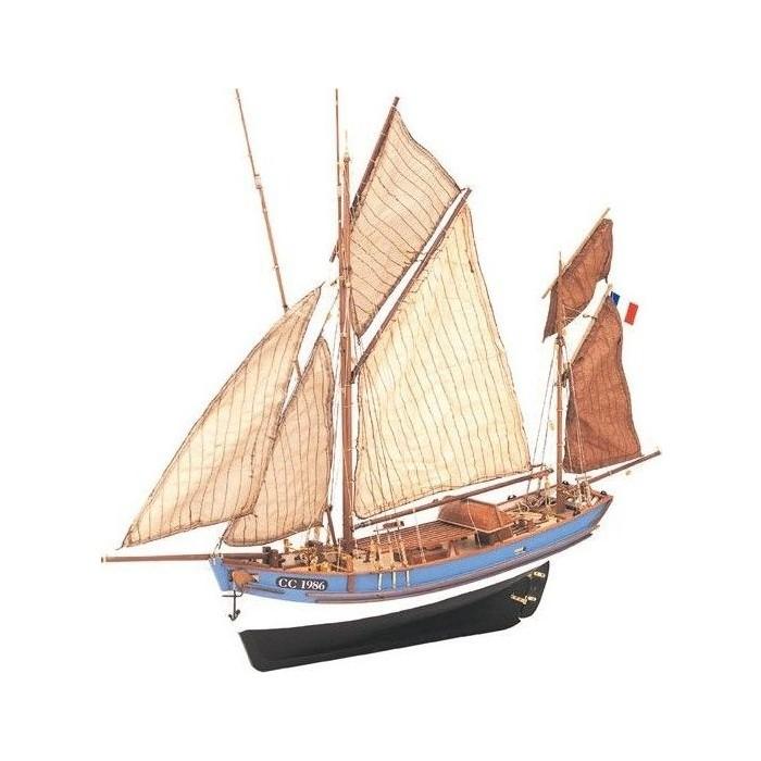 Сборная деревянная модель Artesania Latina корабля MARIE JEANNE, 1/50