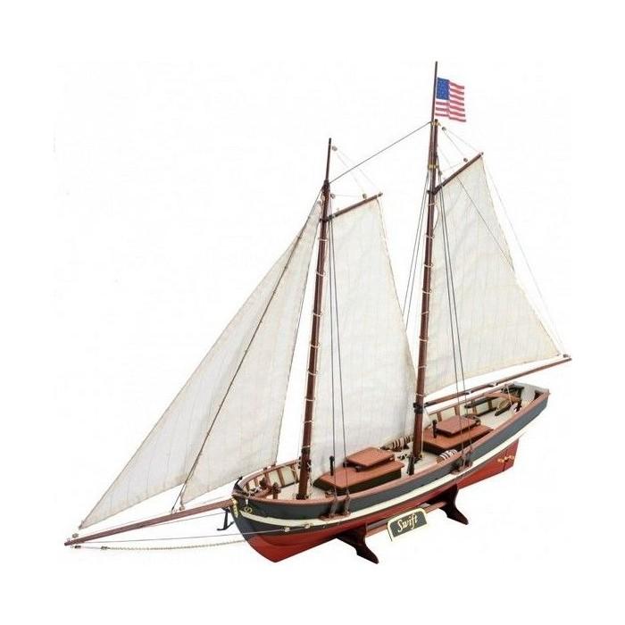 Сборная деревянная модель Artesania Latina корабля NEW SWIFT, 1/50