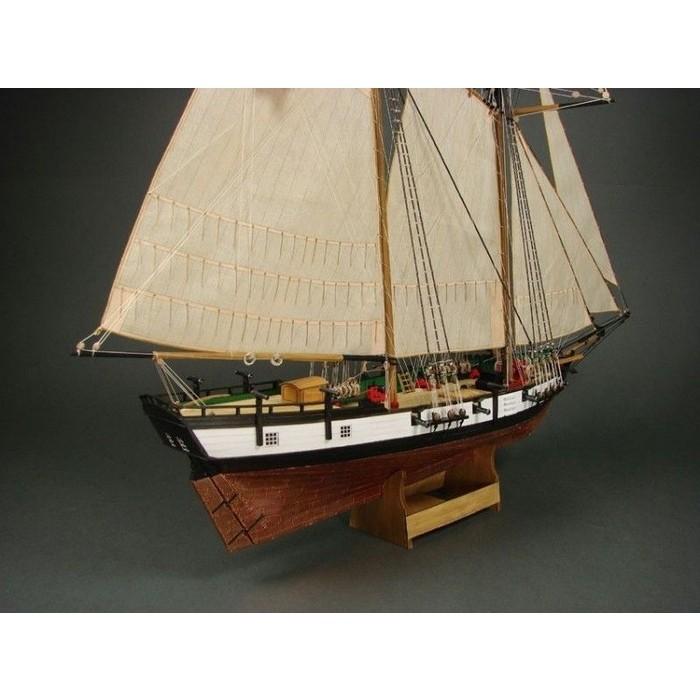 Сборная картонная модель Shipyard балтиморский клипер Berbice в верфи Quay-Portt 1780 г (№38), 1/96