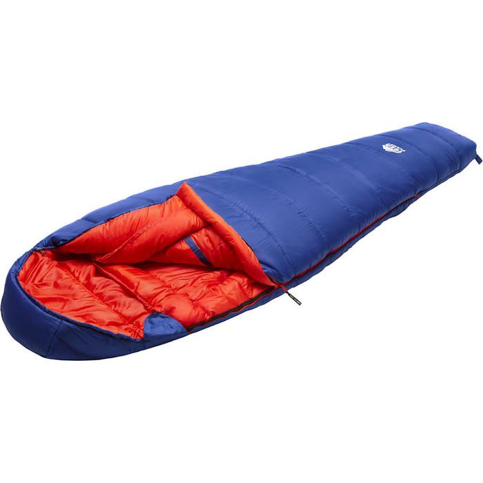 Спальный мешок TREK PLANET Bergen, трехсезонный, левая молния, синий 70355-L