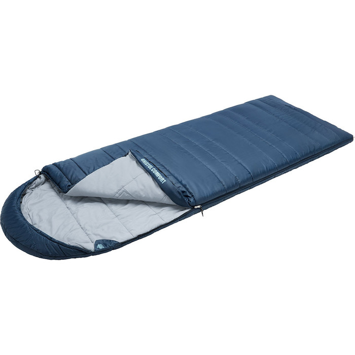Спальный мешок TREK PLANET Bristol Comfort, правая молния, синий 70373-R