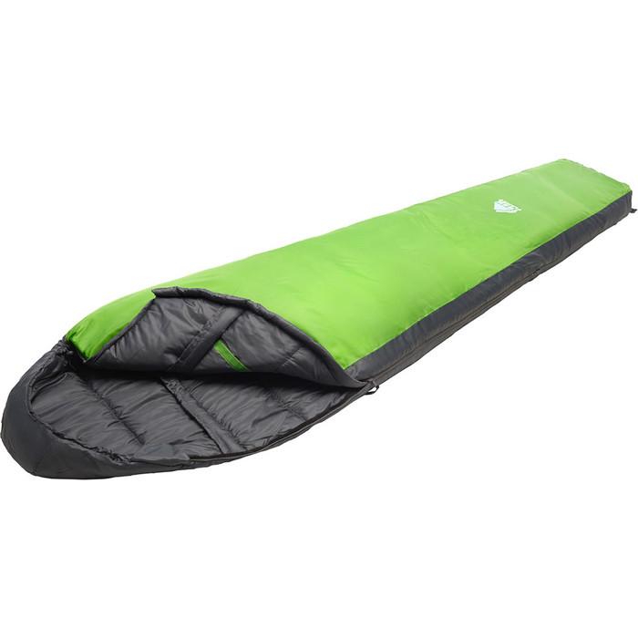 Спальный мешок TREK PLANET Gotland, правая молния, зеленый, серый спальный мешок trek planet glasgow 70331