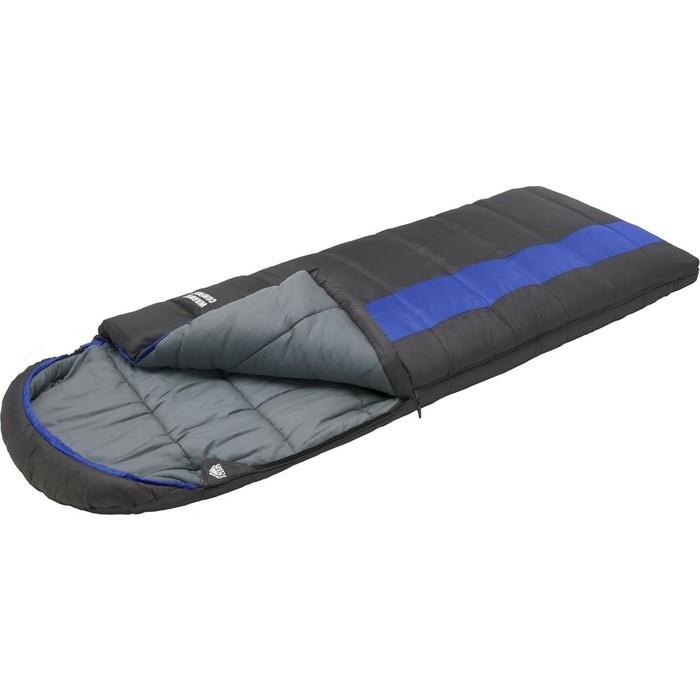 Спальный мешок TREK PLANET Warmer Comfort, зимний, левая молния, серый/синий 70389-L
