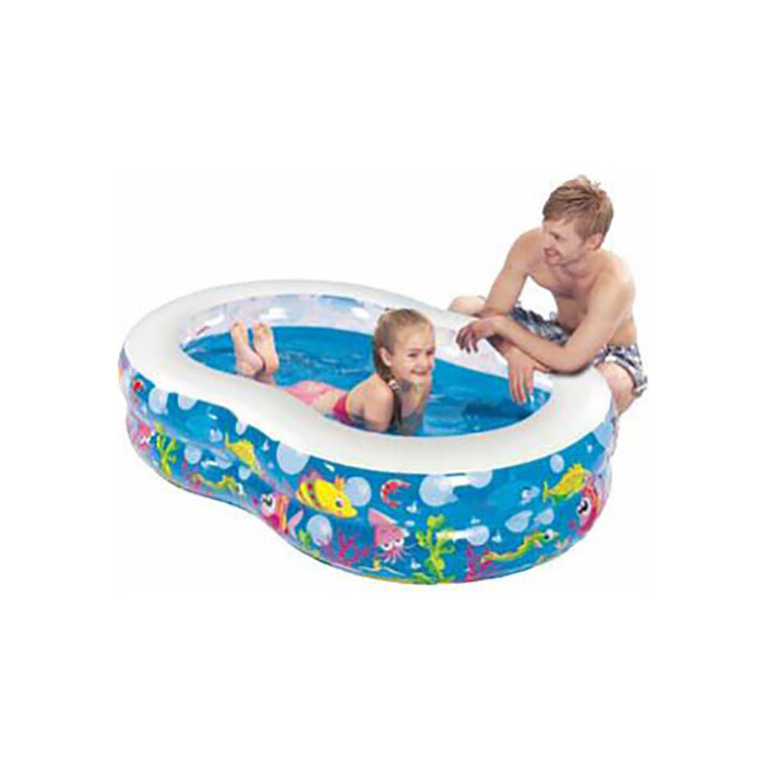 Надувной бассейн Jilong FIGURE-8, 175х109х46см, возраст 6+ лет