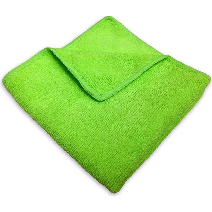 Салфетка GRASS из микрофибры 220 г/м 30х30 зеленая IT-0647