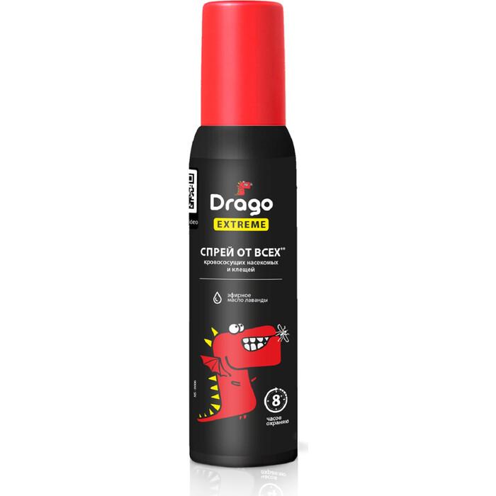 Спрей GRASS Drago EXTREME от комаров и других насекомых 100 мл