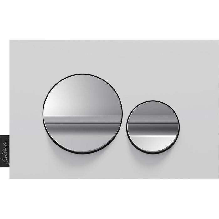 Кнопка смыва Jacob Delafon Hors Collection круглая, белая (E20859-00-MWH)