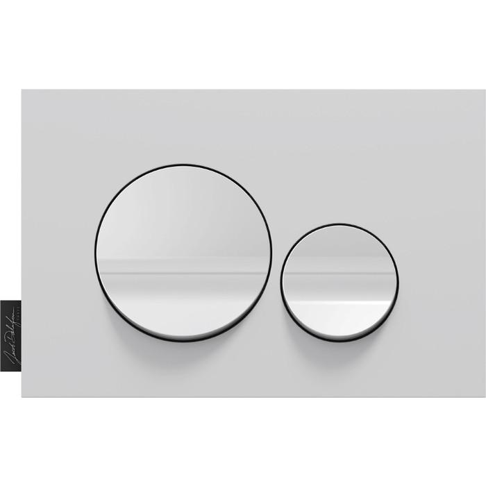 Кнопка смыва Jacob Delafon Hors Collection круглая белая (E20859-CP-MWH)