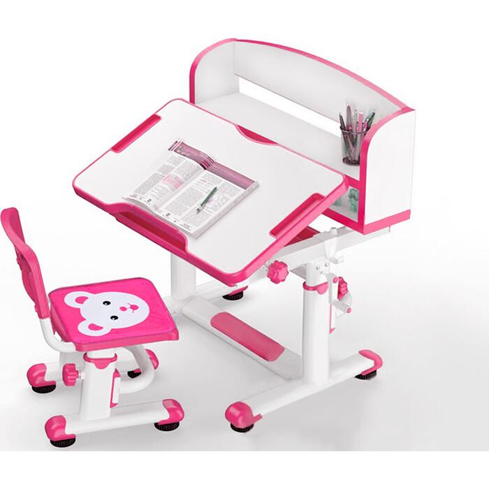 Комплект мебели (столик + стульчик) Mealux BD-10 pink