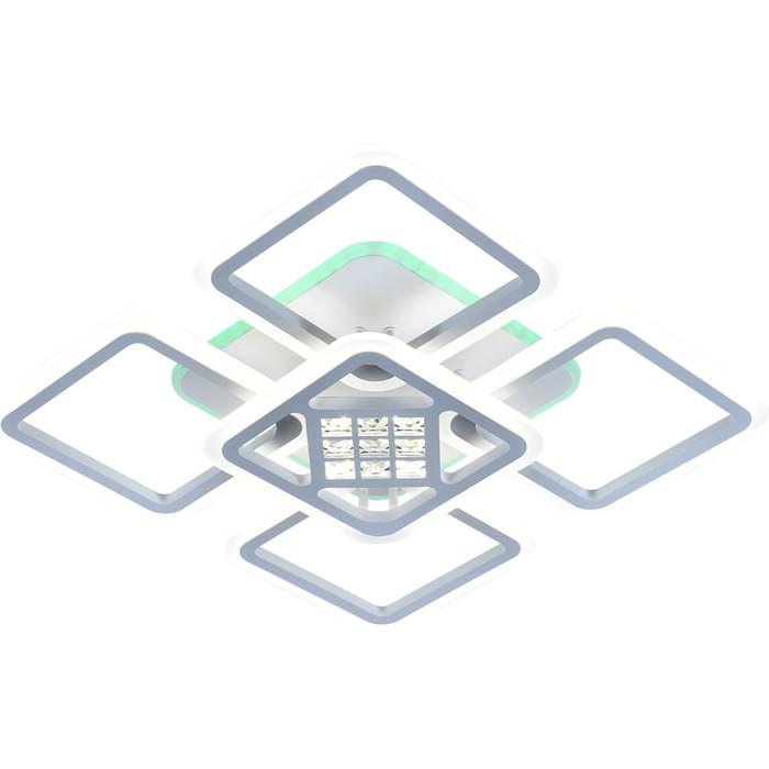 Светодиодная люстра Profit Light 18024/4+1 WHT
