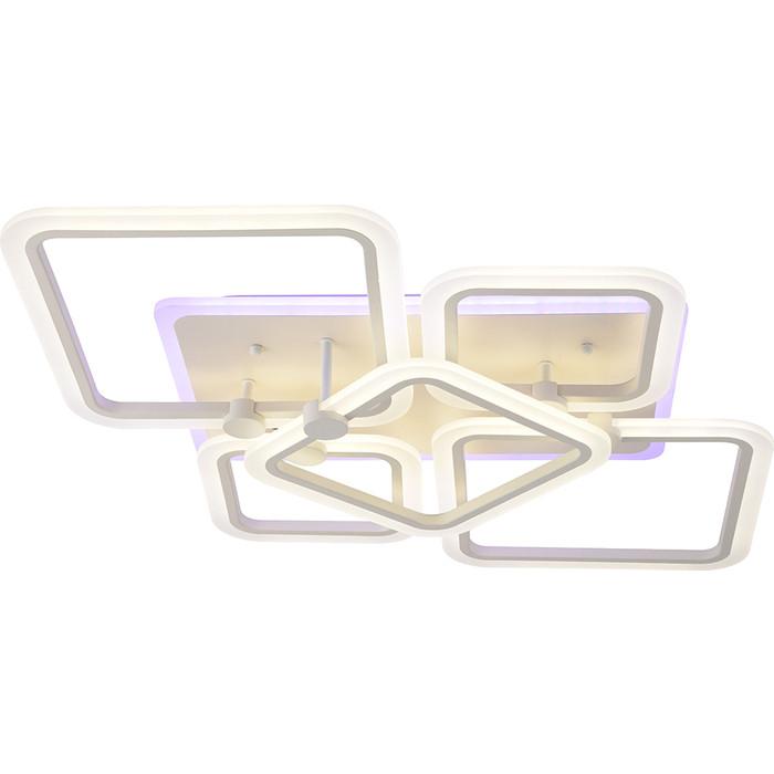 Светодиодная люстра Profit Light 8001/4+1 WHT