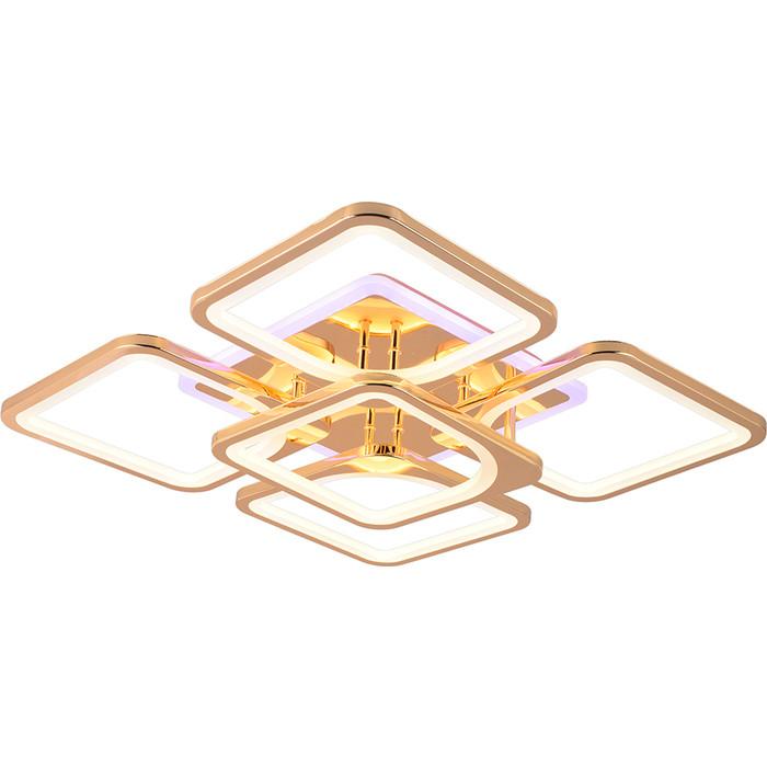 Светодиодная люстра Profit Light 1537/4+1 FGD (BL+YL)