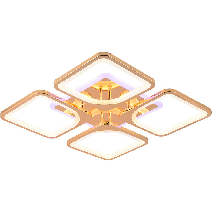 Светодиодная люстра Profit Light 1537/4 FGD (BL+YL)