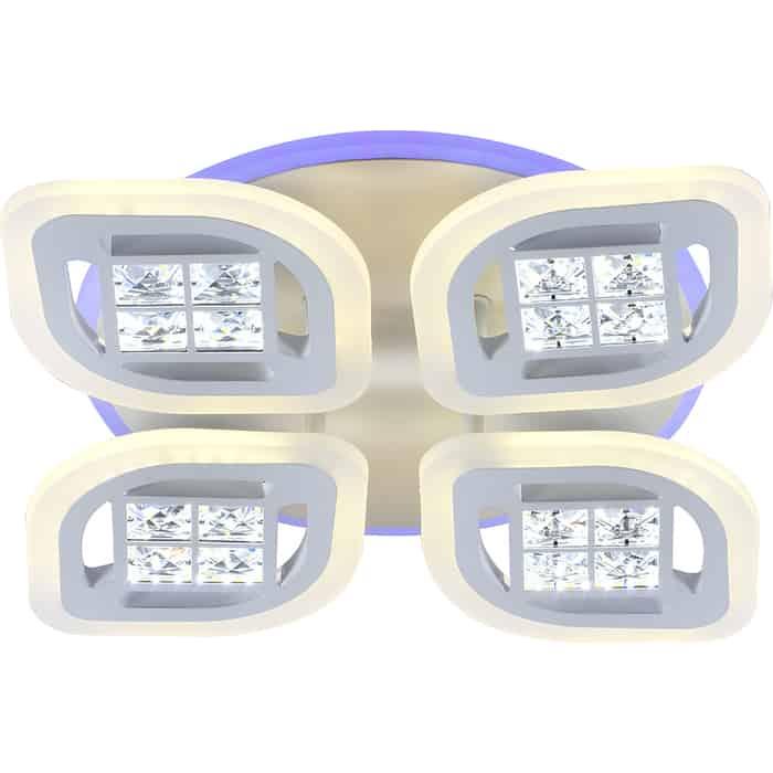 Светодиодная люстра Profit Light 18067/4 B WHT