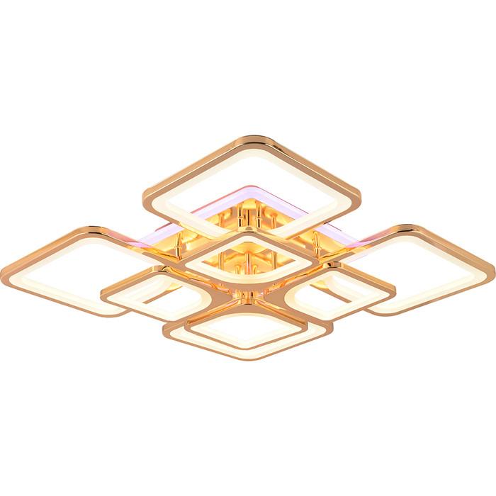 Светодиодная люстра Profit Light 1537/4+4 FGD (BL+YL)