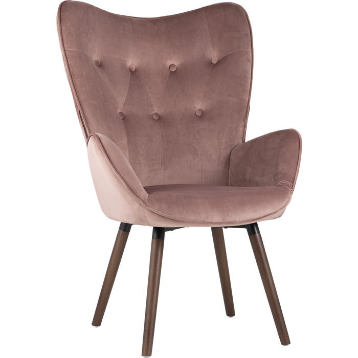 Стул Stool Group Гранд вельвет Kas velvet pink