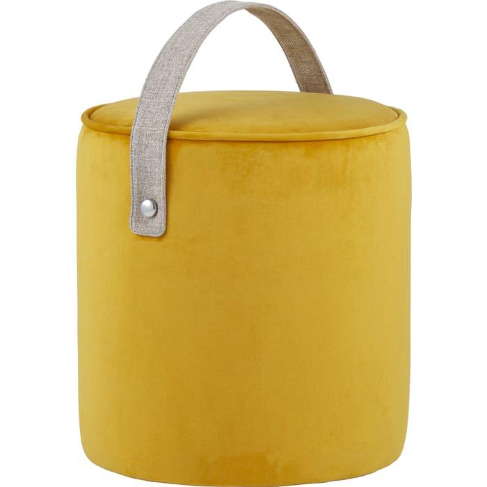 Пуф Stool Group Джерри вельвет оранжевый MC161-2 HLR-41
