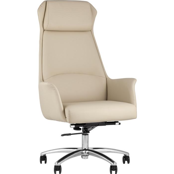 Кресло руководителя TopChairs Viking бежевое A025 DL001-3