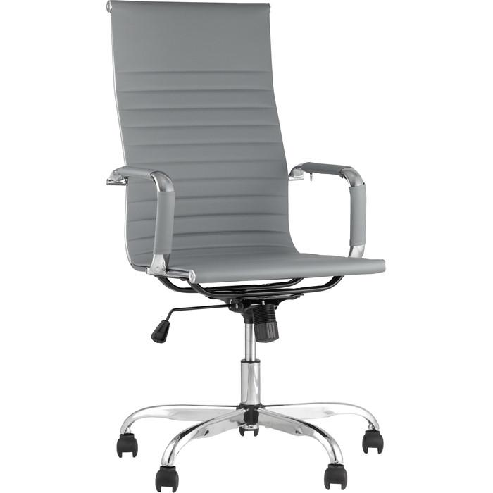 Кресло руководителя TopChairs City D-101H grey