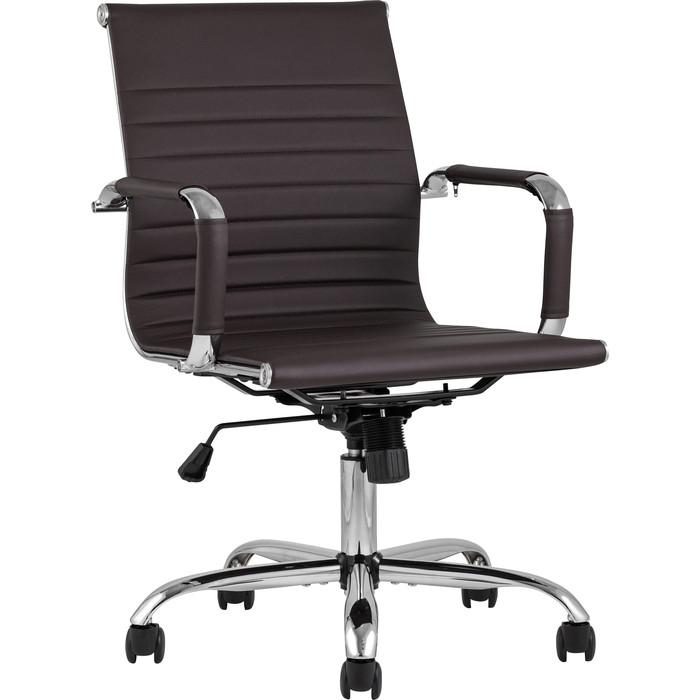Кресло офисное TopChairs City S D-101 brown