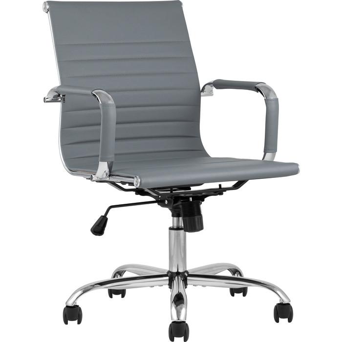 Кресло офисное TopChairs City S D-101 grey