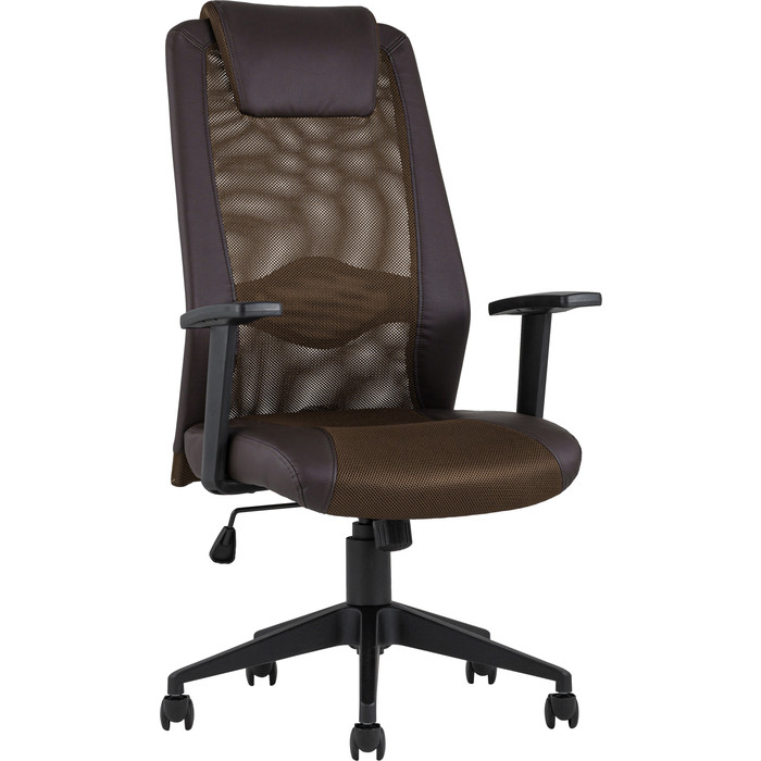 Кресло офисное TopChairs Studio D-204 brown