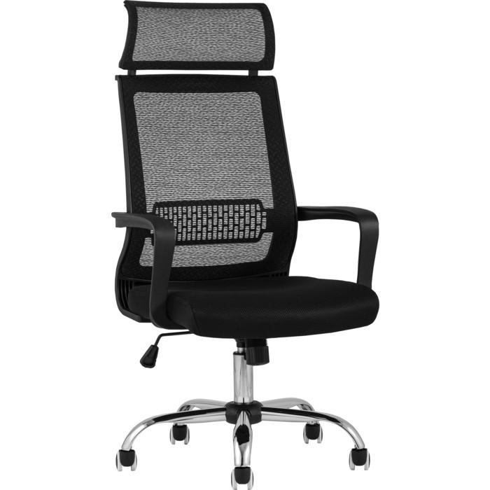 Кресло офисное TopChairs Style D-505M black